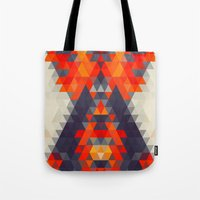 Abstract Triangle Mounta… Tote Bag