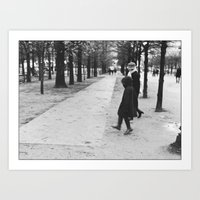 Child Skipping, Jardin D… Art Print