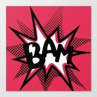 BAM! Canvas Print