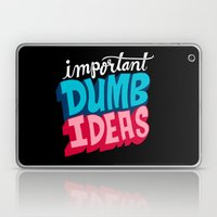 IMPORTANT DUMB IDEAS Laptop & iPad Skin