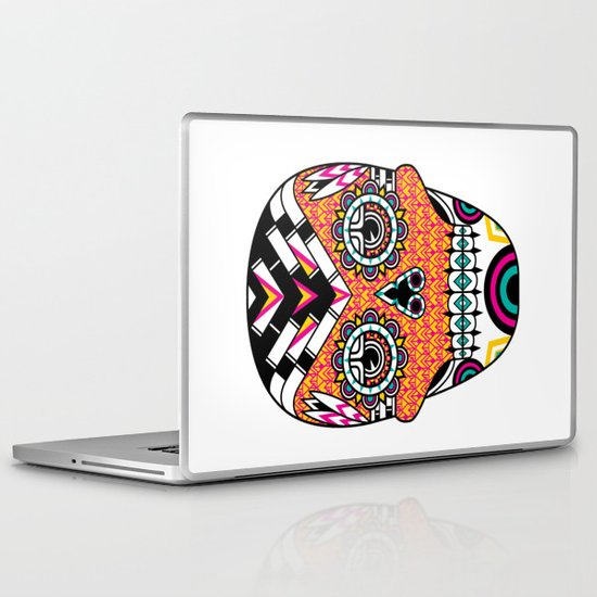 Deco Skull Laptop & iPad Skin