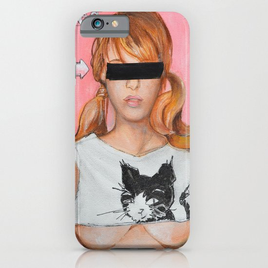 Here Kitty Kitty iPhone & iPod Case