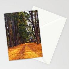 September path Stationery Cards