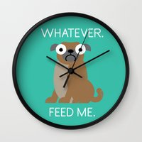 The Pugly Truth Wall Clock