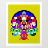 Erik L & Illingsworth - … Art Print