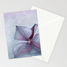 BLUE HYDRANGEA PETAL Stationery Cards