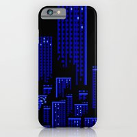 iPhone & iPod Case featuring Cityscape by Something Funny Is Happening