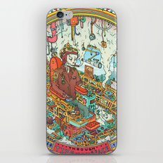 Time to Travel. iPhone & iPod Skin