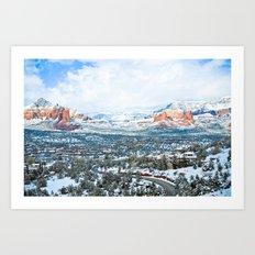 Sedona Art Print
