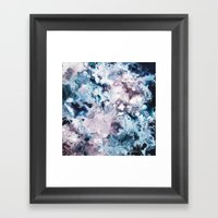 Color Commentary #2: Navy Blue & Purple (But Not Fuscia) [Annie Yim] Framed Art Print