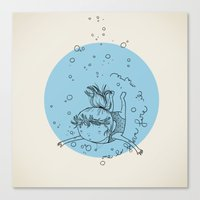 Sea. Canvas Print