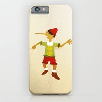 iPhone & iPod Case featuring Pinocchio by Claudio Gomboli