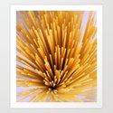 Sunray Spray Spaghetti Art Print