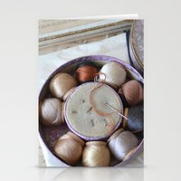 Vintage Sewing Stationery Cards