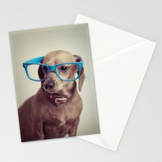 Dogs think they're sooo smart... Stationery Cards