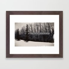 Love & Loss Framed Art Print