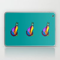 Colorful Cat Hero Laptop & iPad Skin