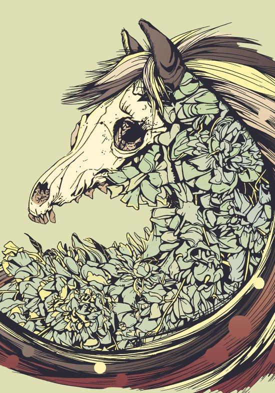 Beautiful Horse Old Art Print