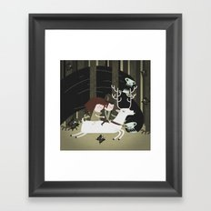 the black forest No.1 Framed Art Print