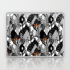 In the forest_B&W Laptop & iPad Skin