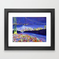 Urban Nature Framed Art Print