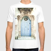 Blue Door Mens Fitted Tee White SMALL