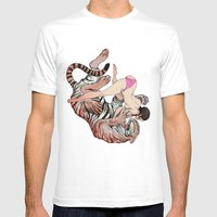 Tigerstyle Mens Fitted Tee White SMALL