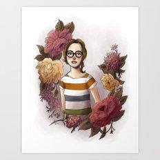 FLORALS Art Print