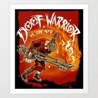 The Doof Warrior Vs The … Art Print