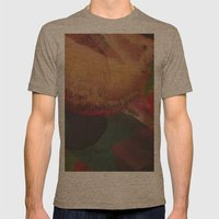 SUPERNOVA / PATTERN SERIES 005 Mens Fitted Tee Tri-Coffee SMALL