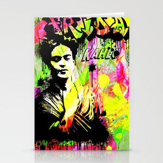 Frida Kahlo Stationery Card