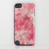 Pink Flowers iPod touch Slim Case