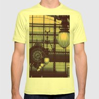 D'Orsay Museum, Paris Mens Fitted Tee Lemon SMALL