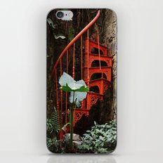 Up up and nowhere iPhone & iPod Skin