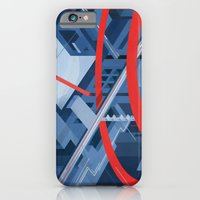 iPhone & iPod Case featuring City by Justin Claus Harder
