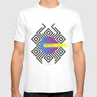 Impossible Symmetry - Ci… Mens Fitted Tee White SMALL