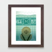 Flooded Framed Art Print