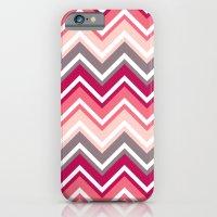 Pink Zig Zag iPhone 6 Slim Case