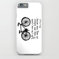 Life Is Like Riding A Bi… iPhone 6 Slim Case