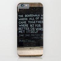 Jersey Shore Boardwalk / Junot Diaz Quote iPhone 6 Slim Case