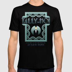 Tally-Ho! Mens Fitted Tee Black SMALL