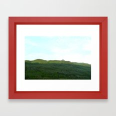 road way, scotland Framed Art Print