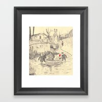 Collectors '2 Framed Art Print