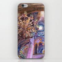 Notre Dame Interior iPhone & iPod Skin