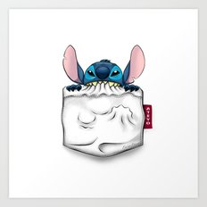 imPortable Stitch... Art Print