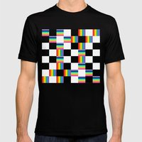 Chessboard 2013 Mens Fitted Tee Black SMALL