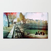 Paris in the Spring Time 2 Canvas Print