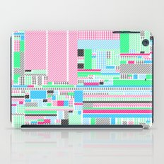 Pink, Blue & Green iPad Case