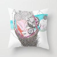 Threads Throw Pillow