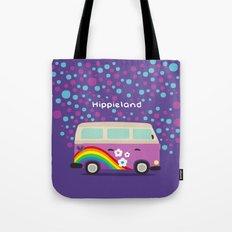 Hippie Land Tote Bag